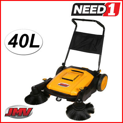 Jmv Industrial Floor Sweeper Heavy Duty 40L Capacity Wet And Dry Dust Filter