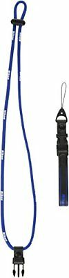 Nikon neck strap 2-way compact for simple blue 6917