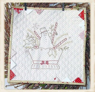 Merry Christmas Embroidery Pattern From Plumcute Designs New
