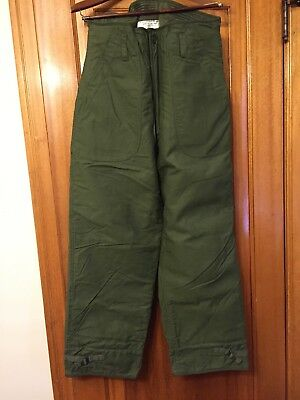 Vintage US Army USN Permeable Cold Weather Trouser Medium Alpha industries