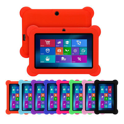 Tablet Soft Rubber Case Silicone Protective Cover For 7 inch kids tablet Q88 U7
