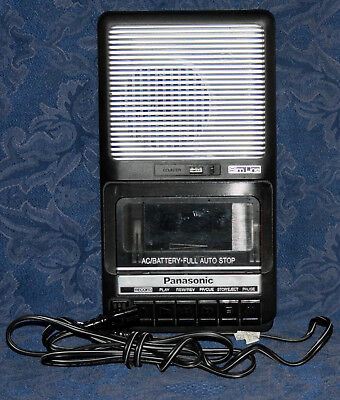 PANASONIC Model RQ-2102 Portable CASSETTE Recorder/Player !!! WORKS !!!