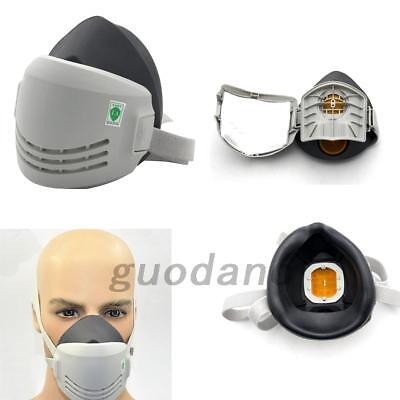 Chemical Reusable Anti-Dust Paint Respirator Welding Safety Industrial Mask UK