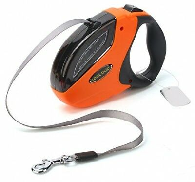 Dog Retractable Leads For Large Breed Heavy Duty 110 Pounds, Smooth Extending
