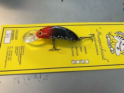 Custom Crafted Hammerhead 65mm Murray Cod Lures Yellowbelly Aussie Made