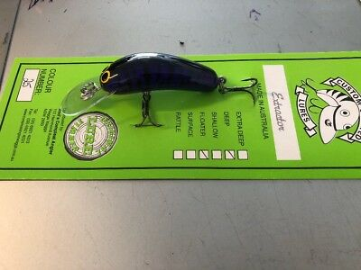 Custom Crafted Extractor 65mm Murray Cod Lures Yellowbelly Aussie Made Timber
