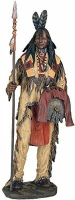 Native American Warrior Collectible Indian Decoration Figurine Statue
