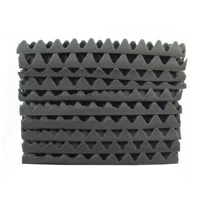 50X50CM Studio Acoustic Foam Panel Tile Sound Absorption Proofing Wedge