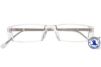 Lesebrille I NEED YOU Champion Kristall/Silber  +4.0 dpt