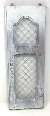 Vintage Repurposed Wood Wall Decor From Old Architectural Doors Piece #3