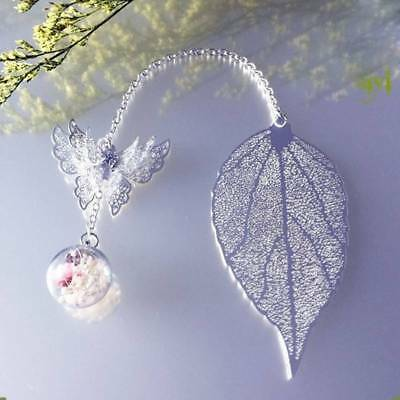 Fashion Creative Hollow Leaf Butterfly Business Gifts School Office Bookmarks