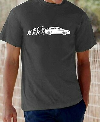 'Evolution of Man' Alfa GT t-shirt