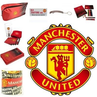 a6b8a554e87 Man United Official Club Merchandise - Souvenirs Manchester Utd Football  Present