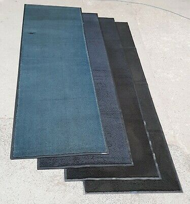 LIMITED OFFER 10ftx 3ft BLACK Dirt Trapper Runner Mat for Garage Kennel Workshop