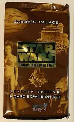 Star Wars CCG Jabba's Palace booster pack