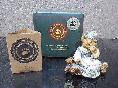 Boyd's Bears The Bearstone Collection H B McBearly..Happy Birthday to Me 3E/4122