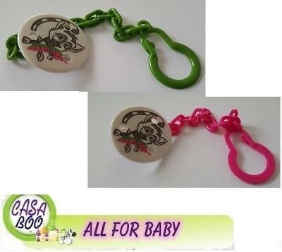 LOVI Baby dummy clip soother holder chain strap NEW Cold Marine free BPA