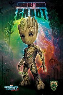 NEW groot guardians galaxy pyramid maxi wall poster 61cm X 91cm PP34110 - 48