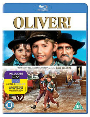 OLIVER! [Blu-ray Disc] (1968) Classic Musical Movie Charles Dickens Oliver Twist