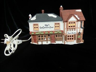 Dept 56 Dickens' Village Series The Old Curiosity Shop #5905-6 Retired Lights Up