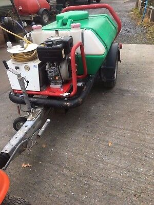 Brendon Diesel bowser pressure washer