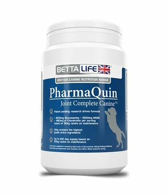 BettaLife Pharmaquin Joint Complete H A Canine  - Joint Care For Dogs