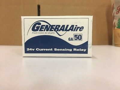 General Aire 24V Current Sensing Relay Ga50 - 7026
