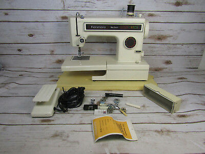 Vintage Sears Kenmore Heavy Duty Sewing Machine Ultra Stitch 6 Tested
