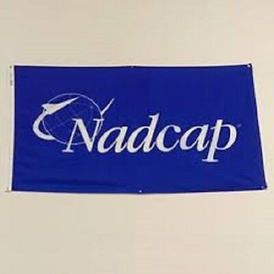 "Official NADCAP FLAG 36"" X 60"" New Free Shipping"