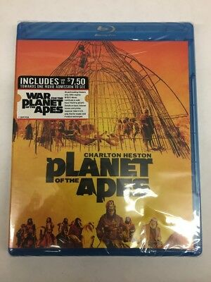 NEW - Planet Of The Apes '68 Blu-ray