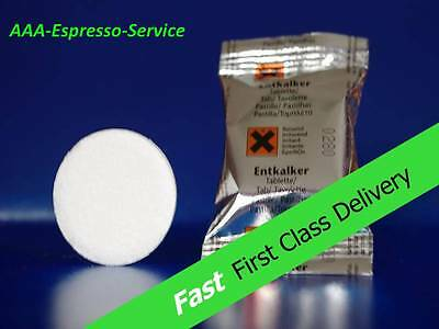 Descaling tablets / descaler for Nespresso, Tassimo, Senseo coffee machine