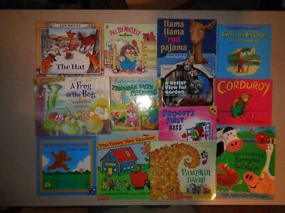 Lot of 10 Fiction Children's Picture Books Unsorted