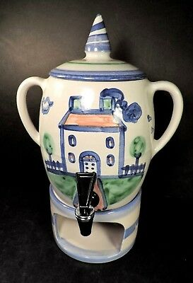M. A. HADLEY (M A HADLEY)  LARGE SAMOVAR / WATER COOLER  absolutely MINT