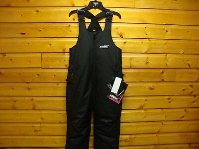 Castle X Platform Bibs Snow Pants Ladies Womens Black Snowmobile Winter Apparel