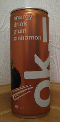 * Neu *  Ok.- Energy - Plum / Cinnamon  2018 - Special Energy Drink (Full/voll)