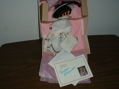 MADAME ALEXANDER DOLL MISS ELIZA DOOLITTLE 20112 NEW IN ORIGINAL BOX w/ PAPERS