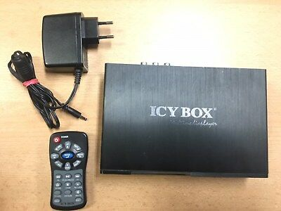 RaidSonic ICY BOX IB-MP305A-B USB Multimedia Mediaplayer MP305