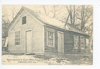 """Joaquin Miller """"Poet of the Sierras"""" Canyon City OR Rare Antique Wooden House"""
