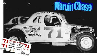 CD_200 #71 Marvin Chase modified coupe  1:24 Scale Decals