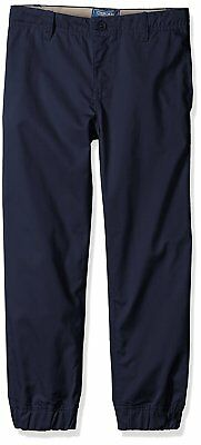 Cherokee Boys' Uniform Twill Jogger Pant With Adjustable Waist SIZE 4