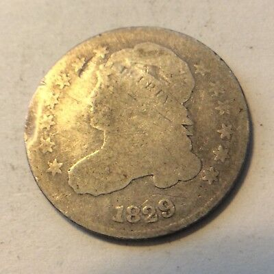 1829 Capped Bust Dime  H622 Free Shipping