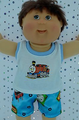 """Play n Wear Doll Clothes For 16"""" Cabbage Patch  PJ'S~SATIN BOXER SHORTS~SINGLET"""