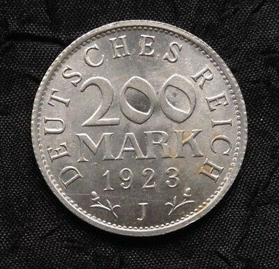 Germany - Weimar Republic 200 Marks Unc., 1923