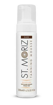 St Moriz Instant Self Tanning Mousse Dark - 200 ml