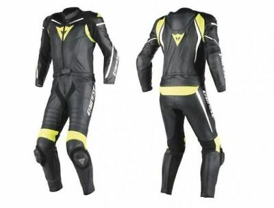 Dainese Laguna Seca D1 2 Two Piece Motorcycle Leather Suit 1513438-N49