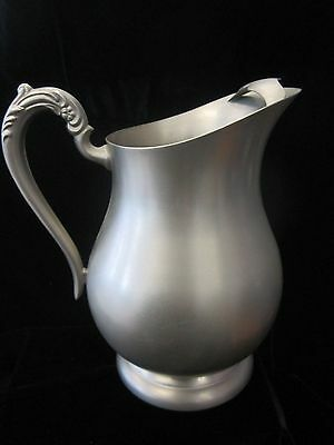 F. B. Rogers Pewer - Provincetown Pewterlite Pitcher
