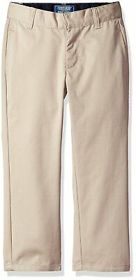CHEROKEE Boys' Uniform Twill-Modern Fit Pant With Adjustable Waist