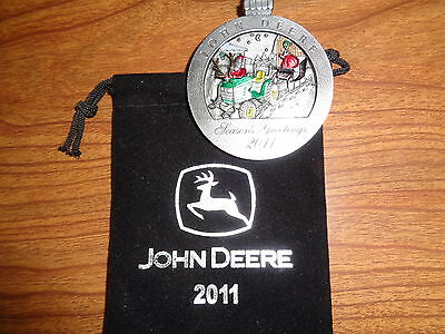 NEW John Deere 2011 4410 Tractor Pewter Ornament, No.16 in Series PMDC02011