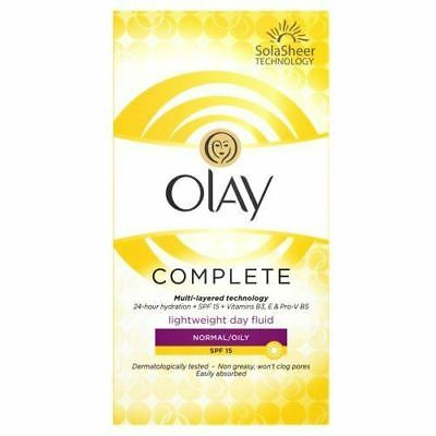 Olay Complete Normal/Oily SPF15 100ml Day Fluid
