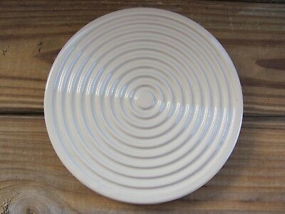 """Chantal~7¾"""" Trivet~Handcrafted in Italy~Sand"""